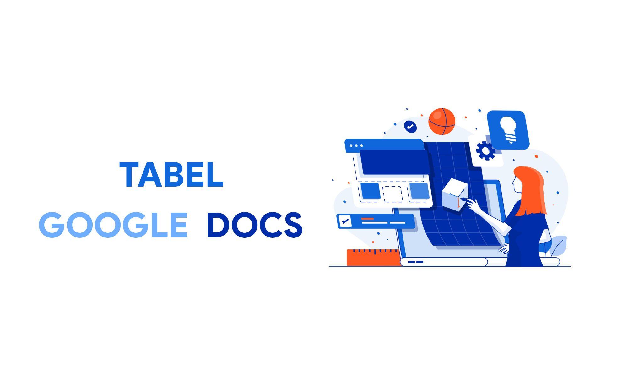 Cara Membuat Tabel Di Google Documents Docs Google