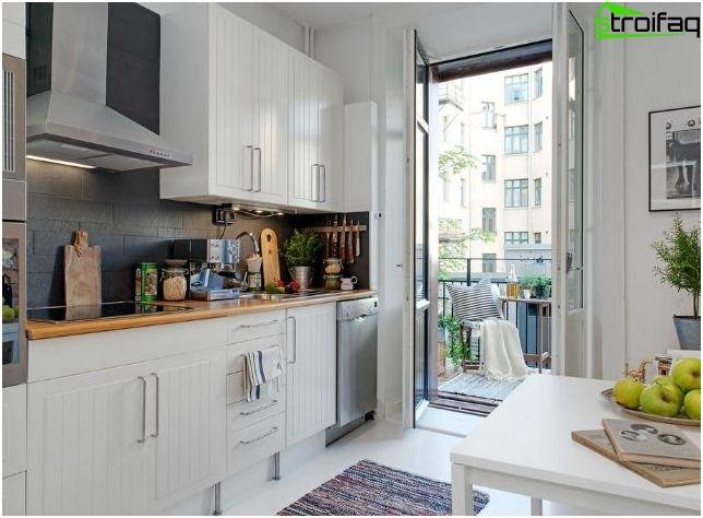 Cucina design 10 mq - 50 foto cucina idee interne, scegliere la ...