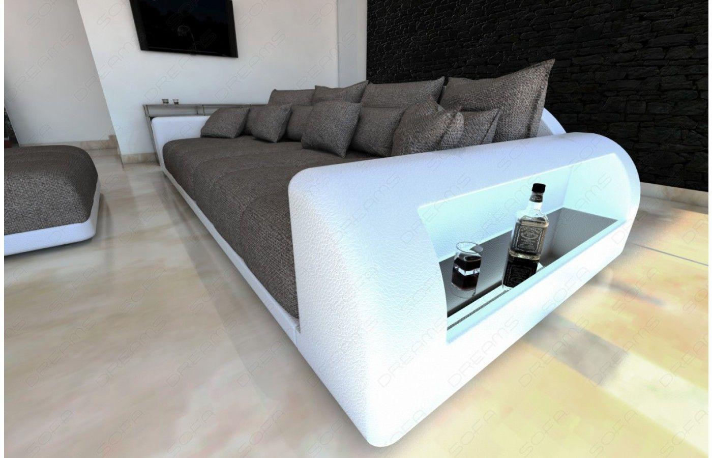 Wunderbar Sofa Billig Kaufen Ideen Von #design #bigsofa Mit #led Beleuchtung - Iv
