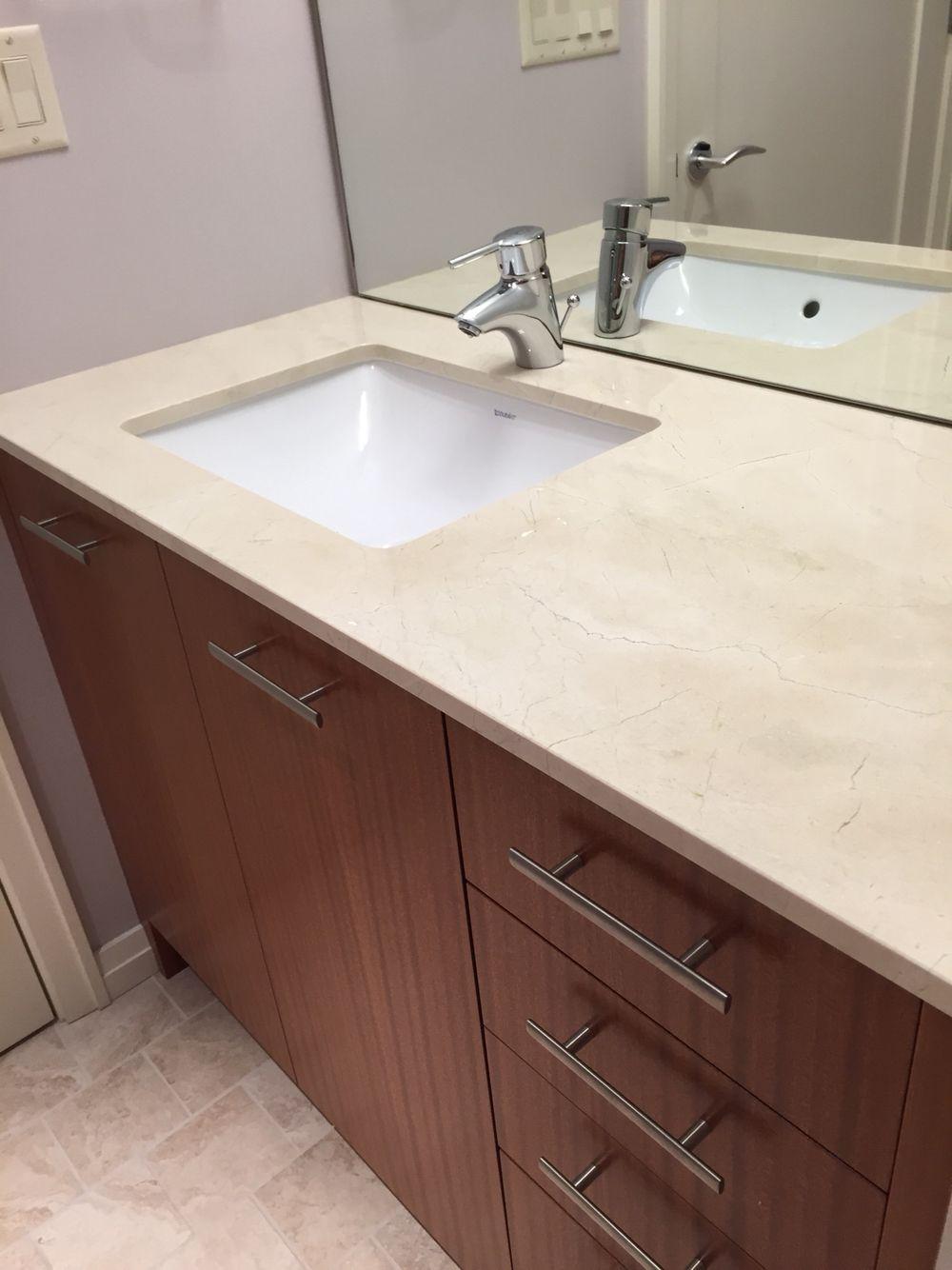 Vanity Countertop Quartz Bathroom
