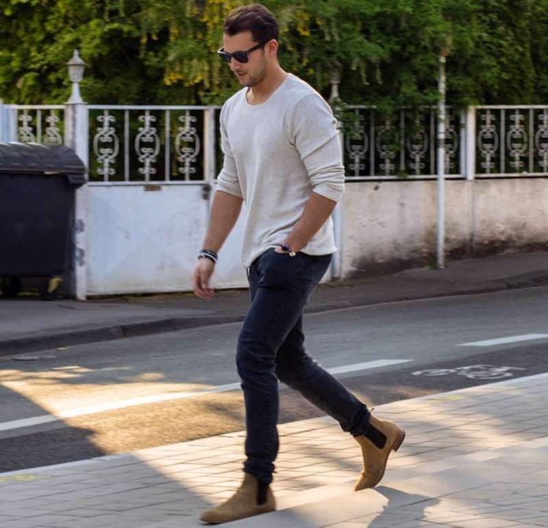 What To Wear With Tan Shoes Shoes Chelsea Boots Style