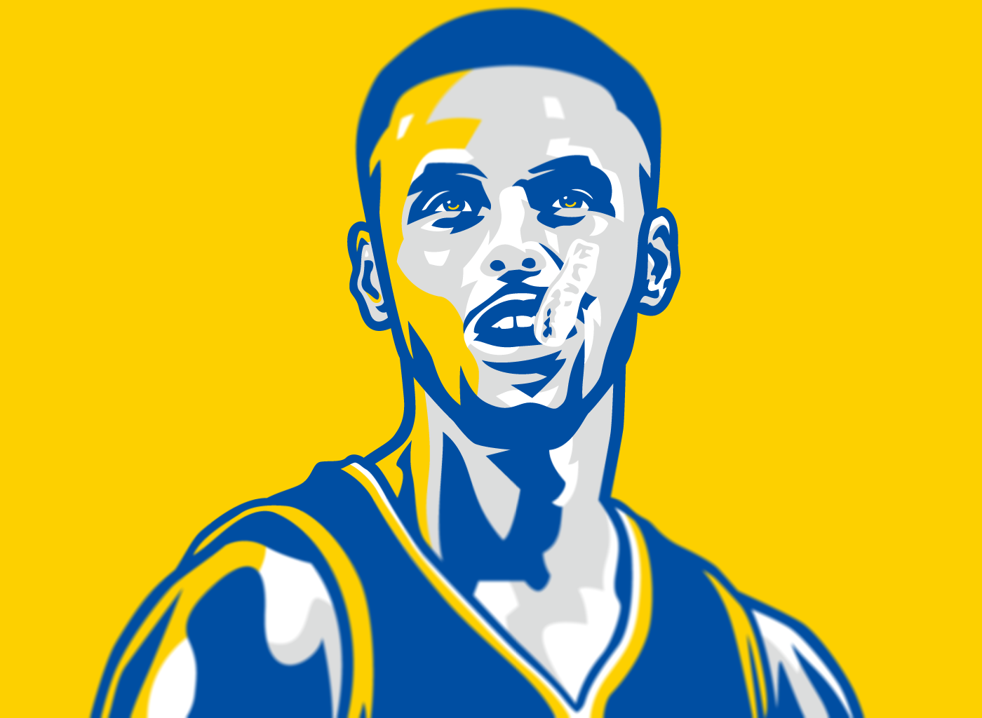 Stephen Curry Passion Illustration Stephen Curry Wallpaper Stephen Curry Curry Wallpaper