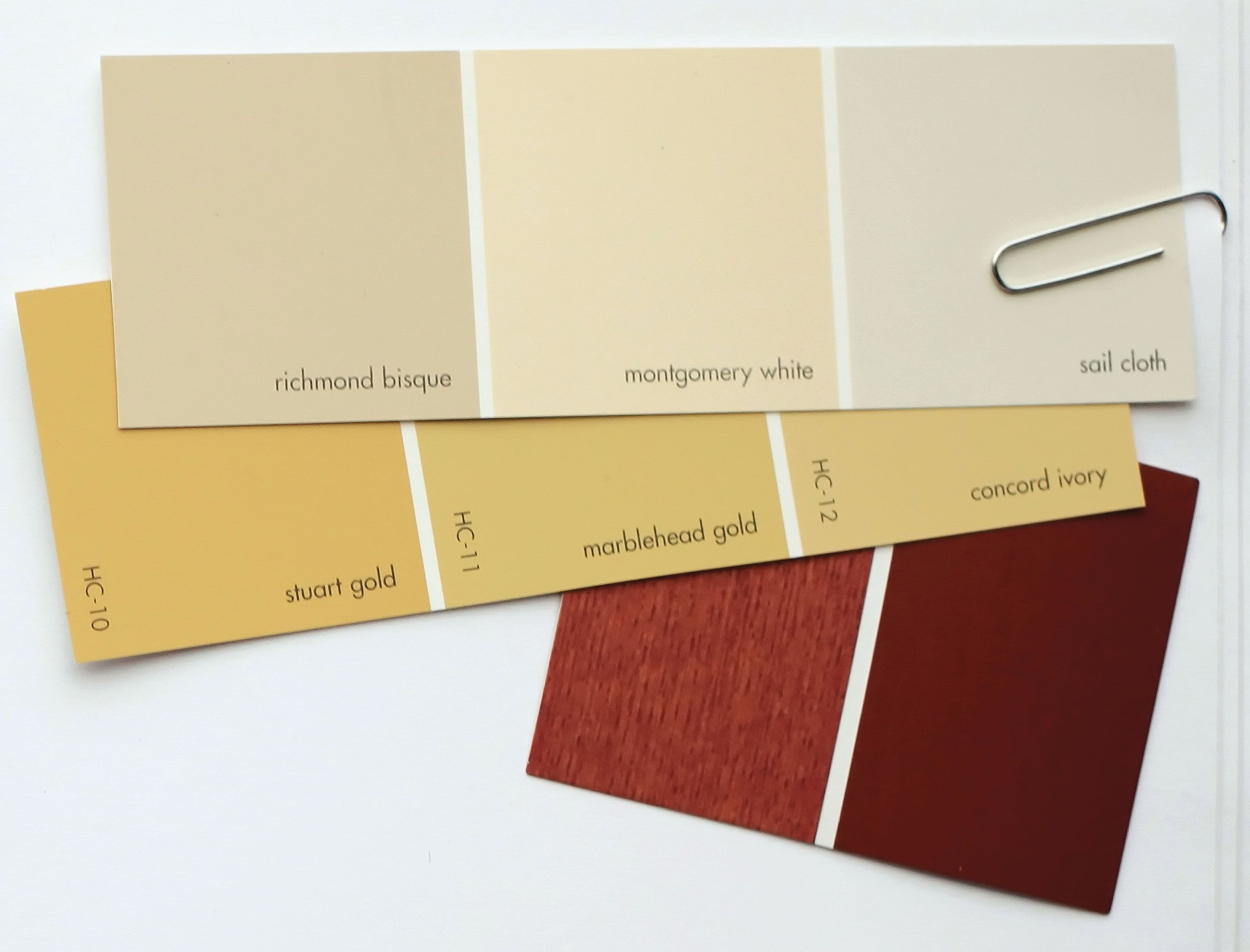 Marblehead Gold & Pomegranate (Benjamin Moore) | Color Schemes ...
