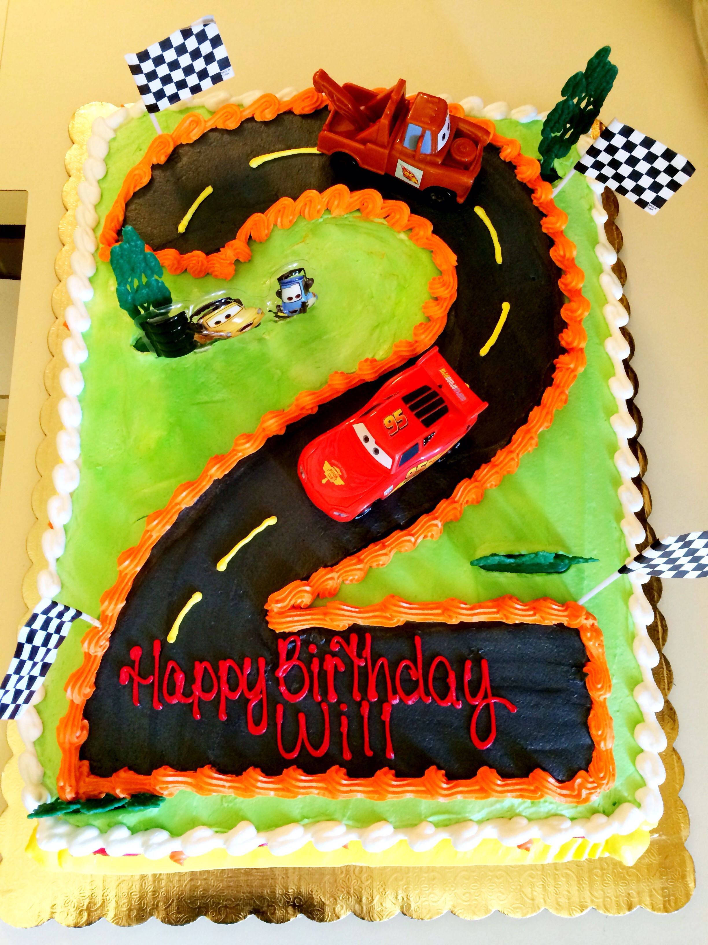 Cake Designs Disney Cars : Disney Cars Birthday Cake Birthday Party Ideas ...