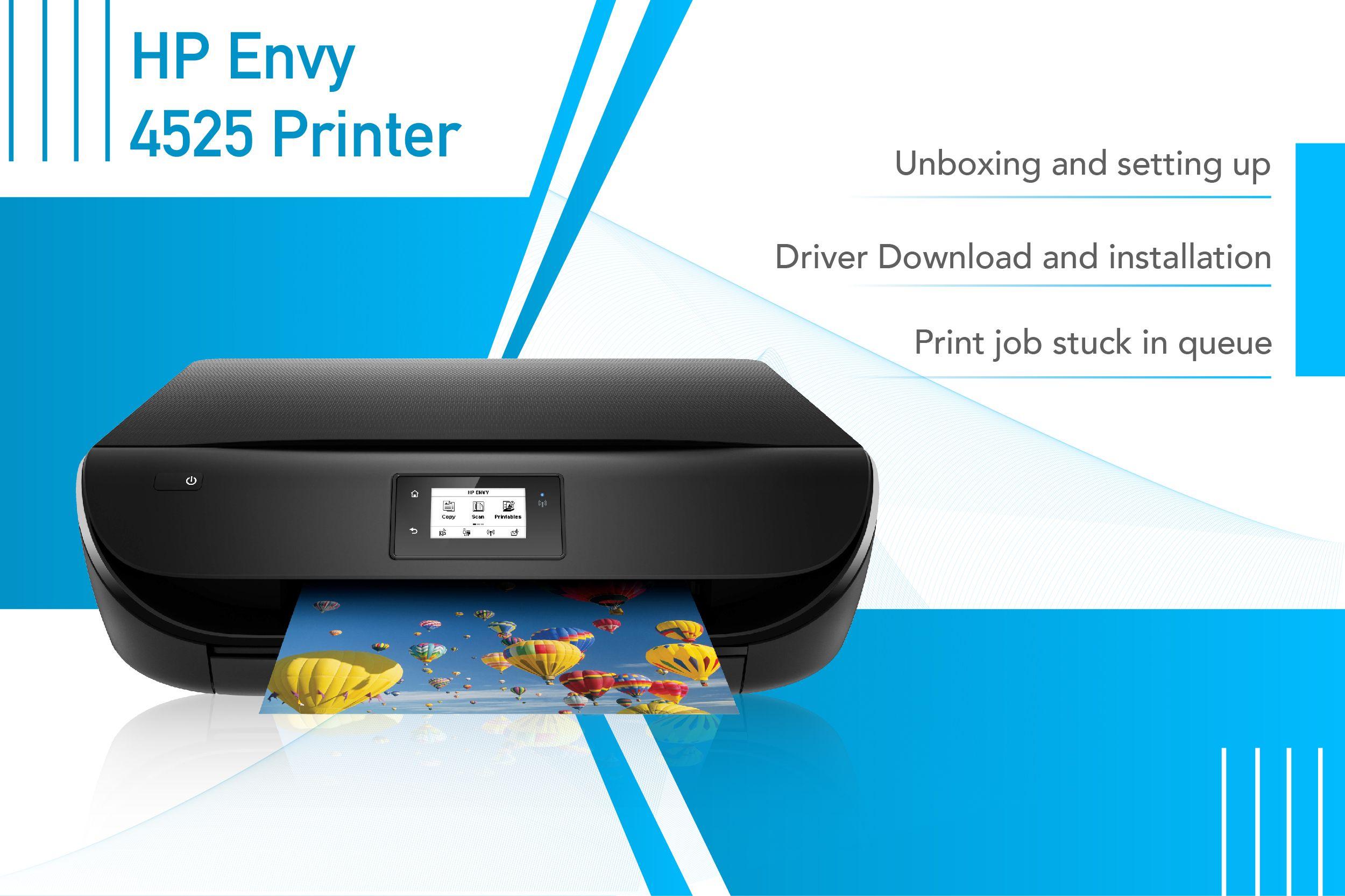 123 hp com/envy4520 in 2019 | HP Envy Printer | Printer
