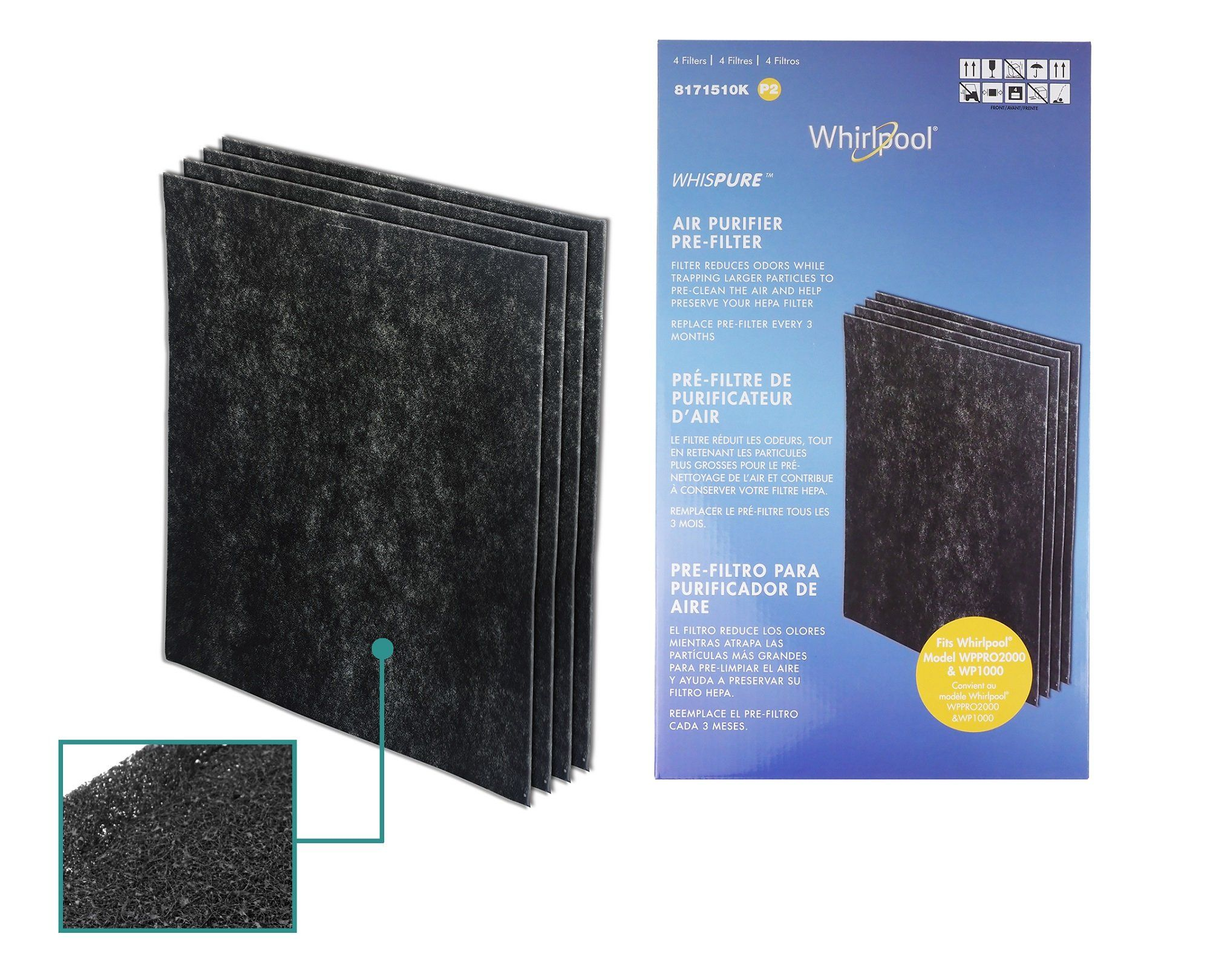 Air Purifier With Activated Carbon Filter