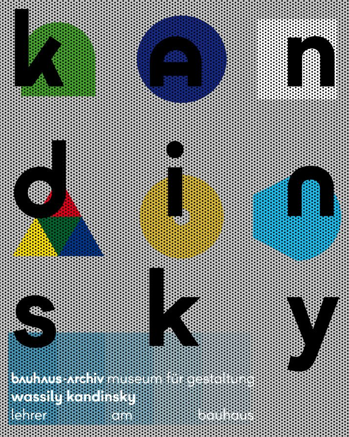 The First Corporate Identity of The BauhausArchiv Museum
