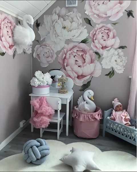 "Photo of Baby Cackle på Instagram: ""http://babycackle.com/ #wallstickers #barnerom #kidsroom #bedroom #soverom #inspo #interiorinspo #kidsinterior # barnehage # madelen88 # kjærlighet…"""