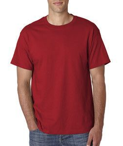5180T Hanes Adult Tall Beefy-T® T-Shirt Deep Red