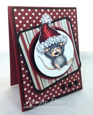 """Hang on!"" by Jennifer Dove on House-Mouse Designs®"