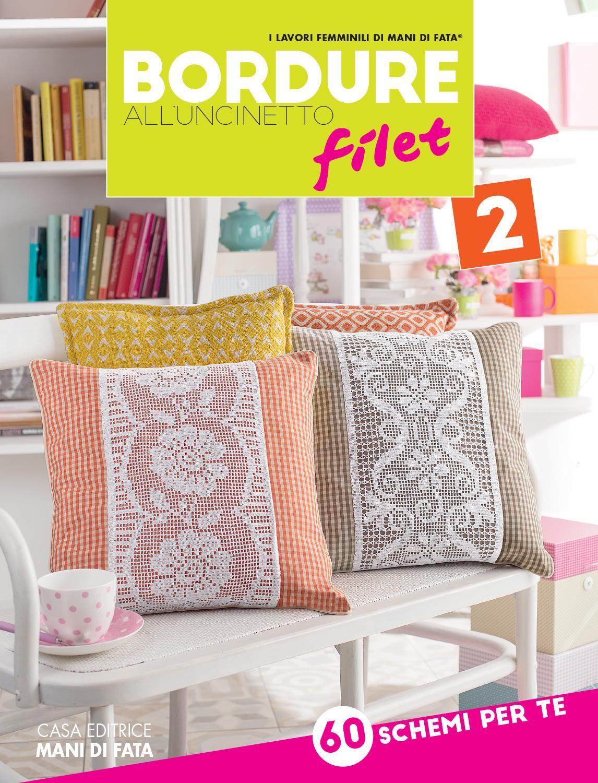 Bordure All Uncinetto Filet 2 C8bouf2 Filet Crochet Crochet Books Crochet Borders