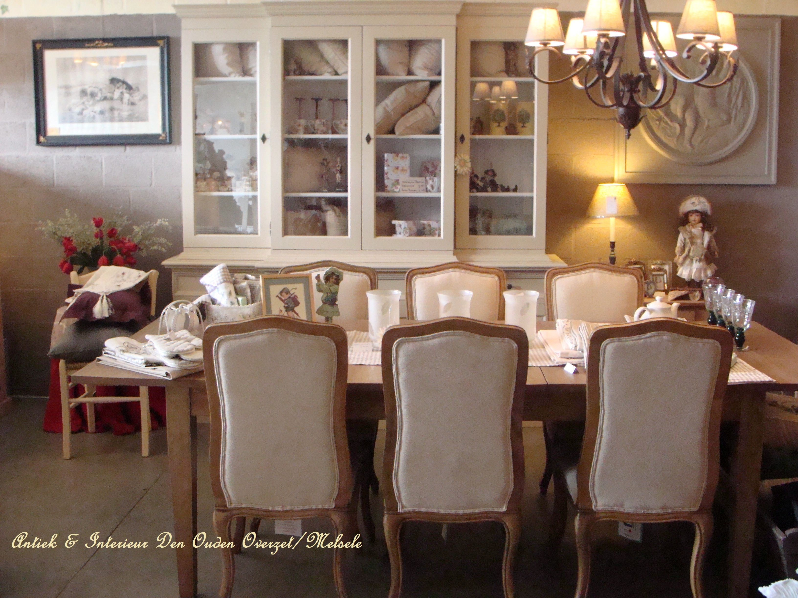 One Of The Dining Room Examples In Shop