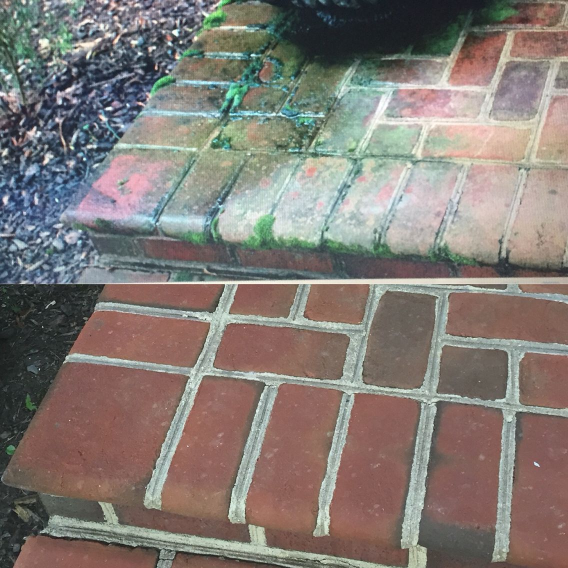 Powerwash Your Outdoor Brick Hardscapes To Make It Look Like New. It Removes  The Moss, Mold And Stains.