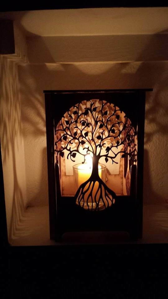 Table lamp - lamp - desk light - laser cut wood lamp - laser cut table lamp  - night light - lantern - tree of life - Hey, I Found This Really Awesome Etsy Listing At Https://www.etsy