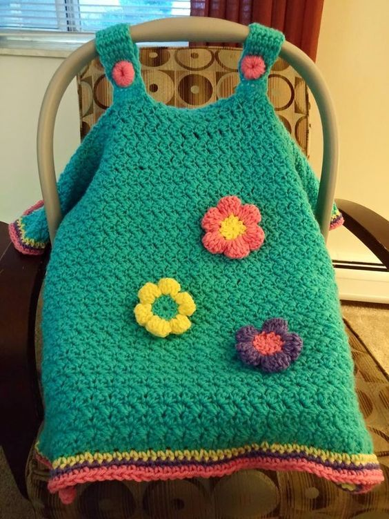 crochet car seat canopy