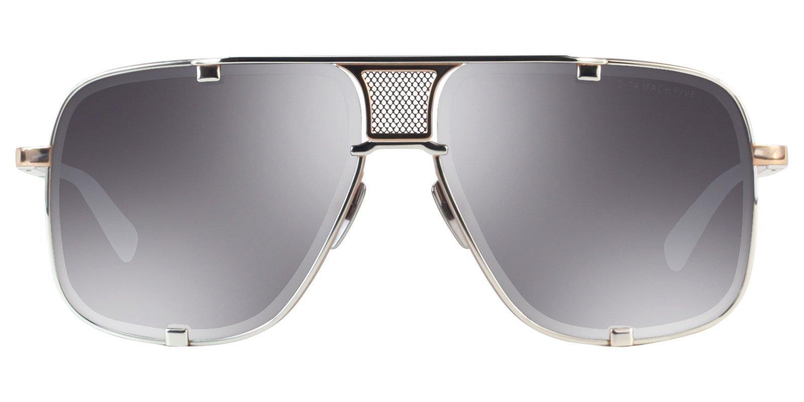 a0547beba2e Dita - Mach Five Platinum Rose Gold - Silver sunglasses