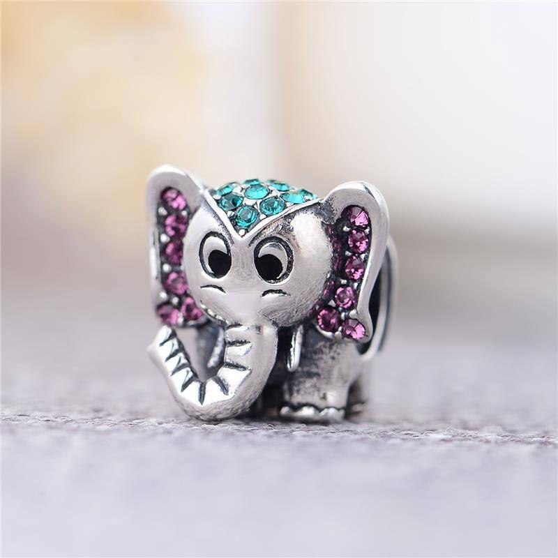 charm pandora elefantino