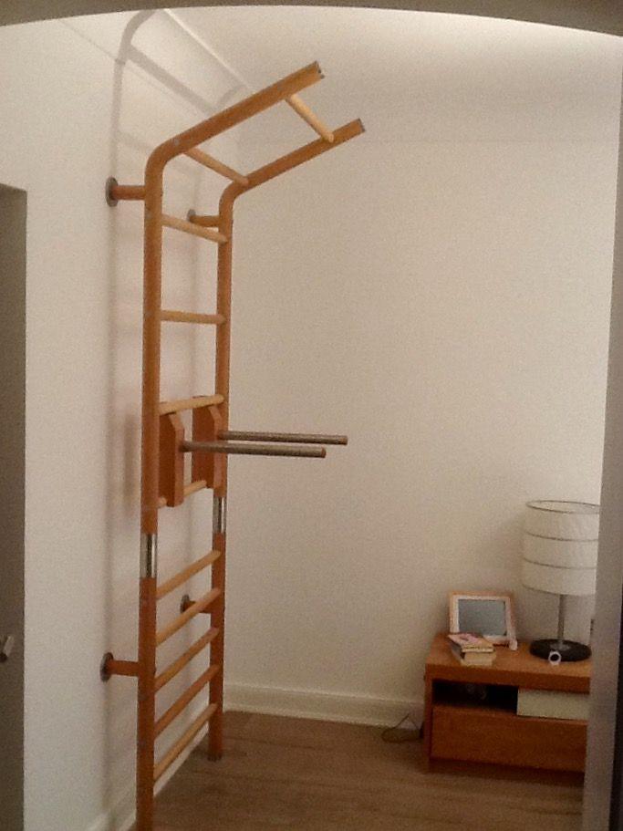 Luxus / Design Sprossenwand max wall aus Holz und