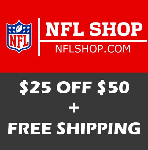 save off 6d486 5a176 NFL Shop Coupon: Up to 60% off Sitewide + Free Xmas S/H on ...