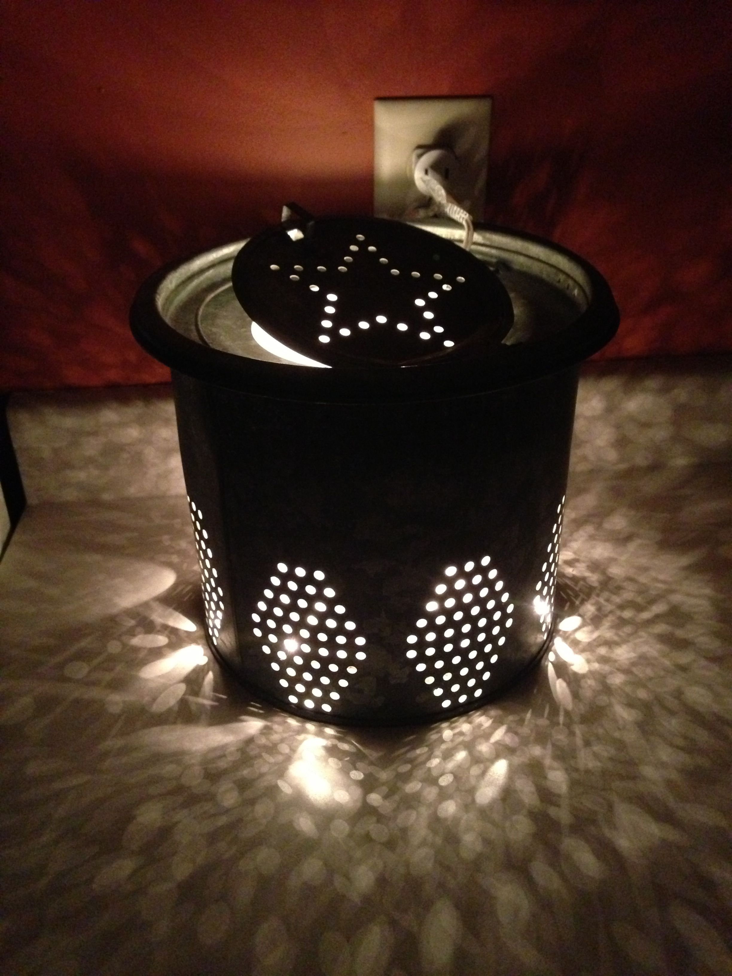 Made A Lamp Out Of An Old Minnow Bucket Awesome