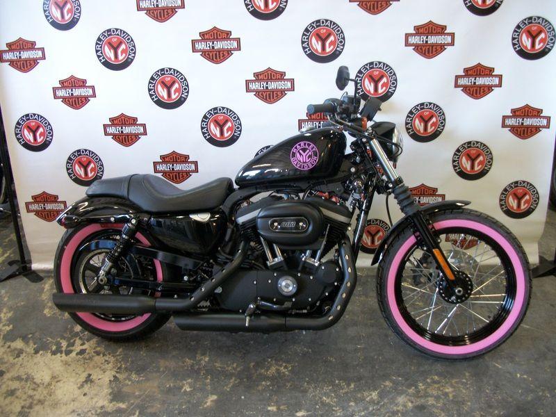 pink harley davidson 883 motorcycle | Harley-Davidson® XL883N - Iron ...