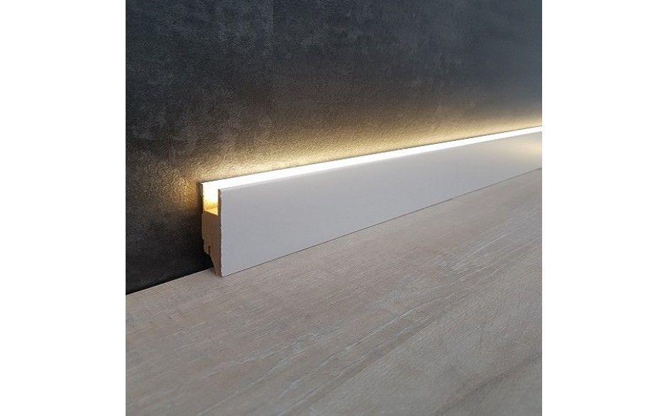 Led Lichtsockelleiste 70 X 19 Mm Indirekte Beleuchtung Indirekte Beleuchtung Led Indirekte Beleuchtung Beleuchtung