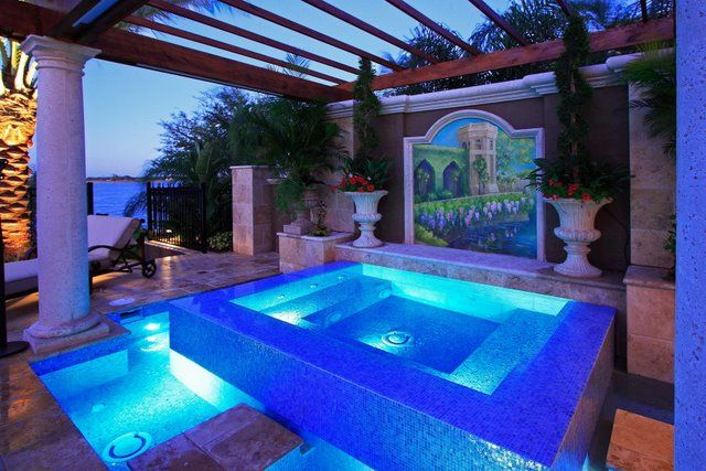 More of a work of art than a pool, but very pretty. | Pools and ...
