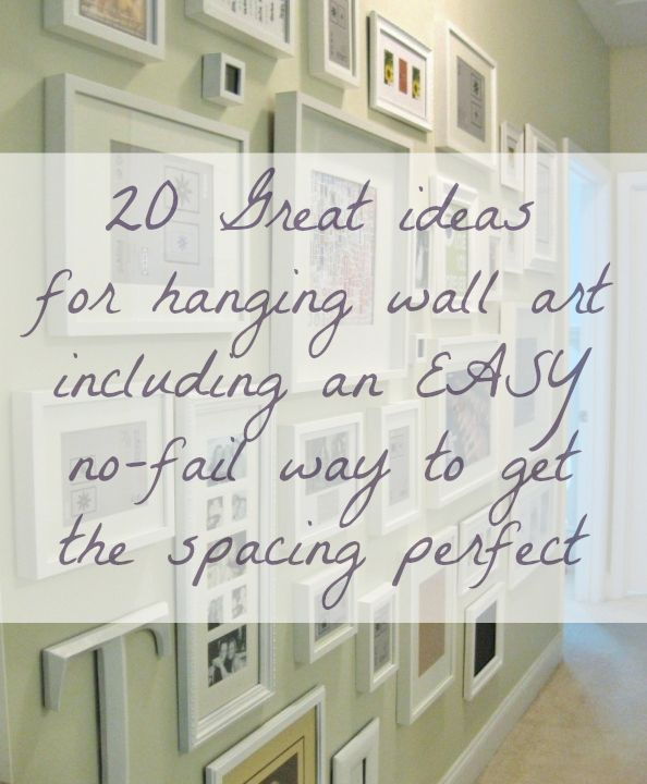 Freshening Your Home for the New Year {part V – wall art ideas ...