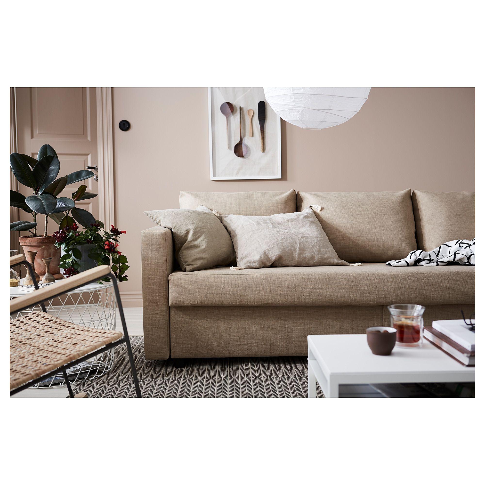 Ikea Friheten Sofa Bed Skiftebo Beige Dreaming Of Cottage In