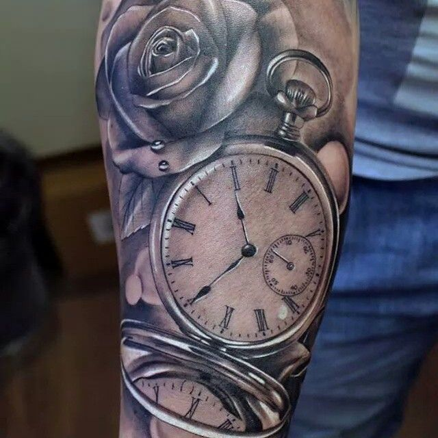 Time goes by tatouages montre gousset pinterest tatouage montre gousset tatouage montre - Montre a gousset tattoo ...