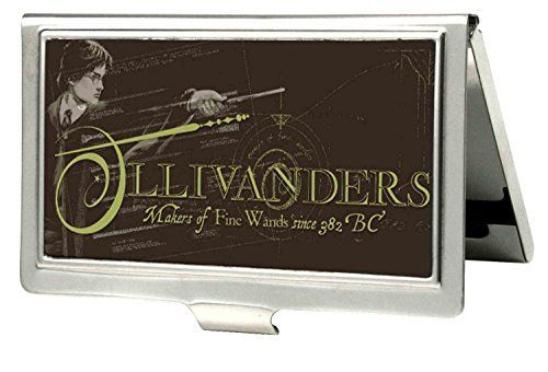 Harry potter ollivanders fine wands metal multi use wallet fine wands metal multi use wallet business card holder birthday pinterest business card holders and wand reheart Gallery