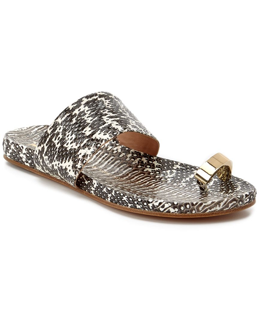 af2c2f299f1 VC Signature by Vince Camuto Capria Leather Flat Sandal is on Rue. Shop it  now.