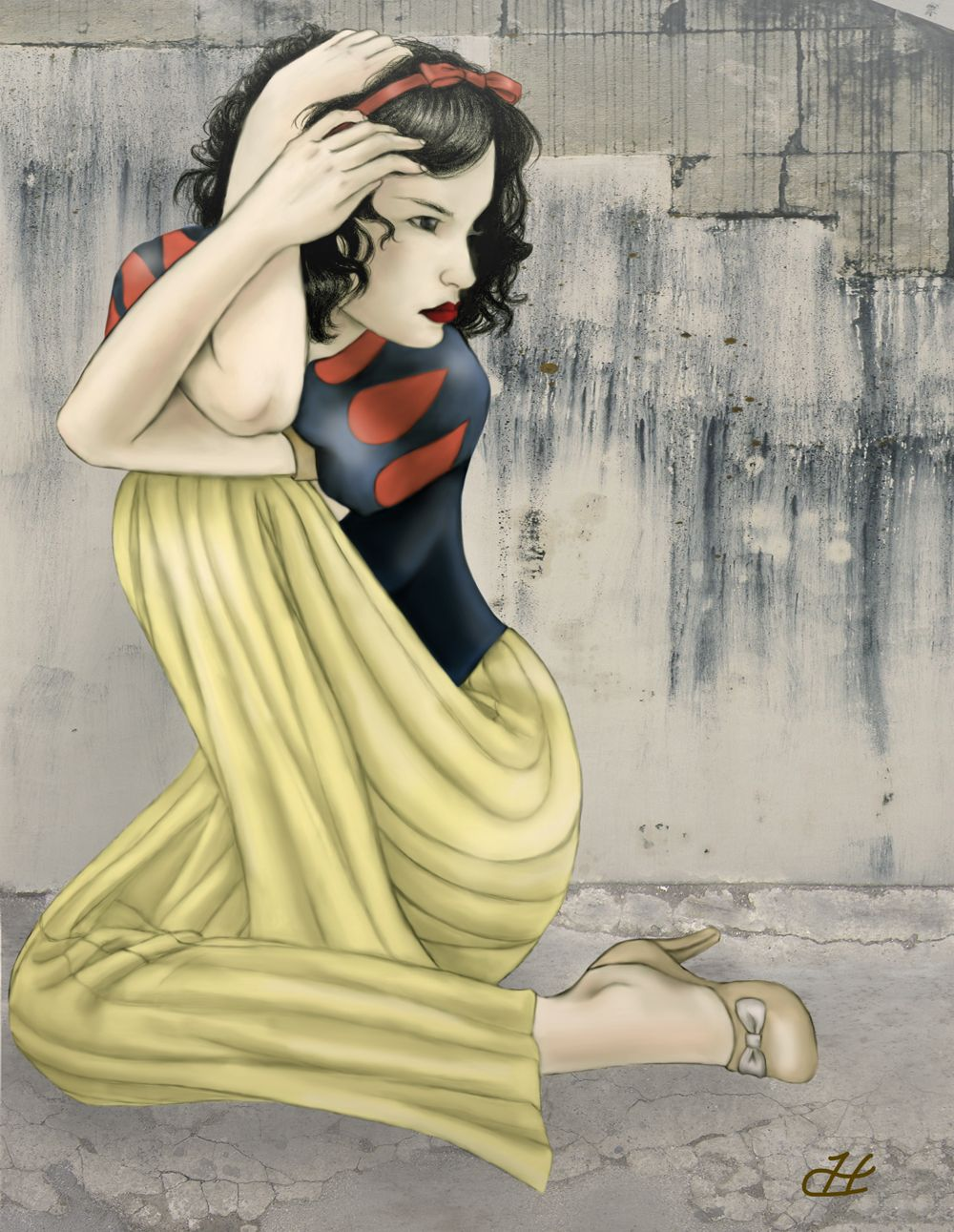 Snow White by+hypercrabby.de...