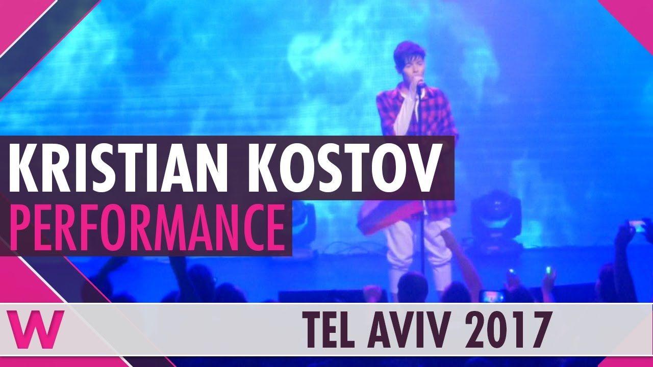 Kristian Kostov Beautiful Mess Bulgaria 2017 Live Israel Calling 2017 Musica
