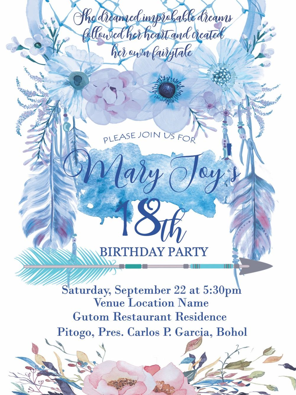 debut themes debut invitation