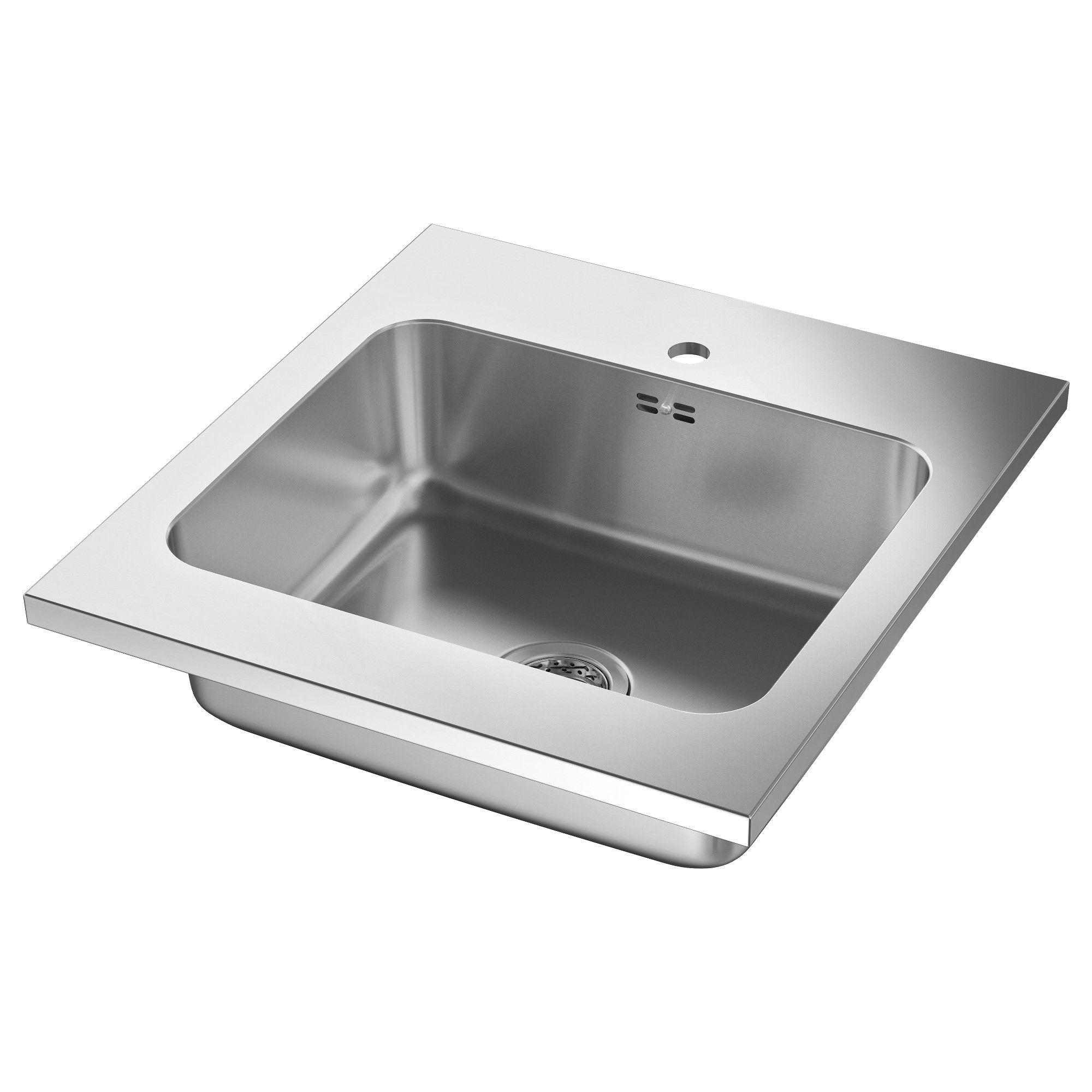 AMMERÅN Sinks, IKEA in 2020 Sink, Kitchen sink taps