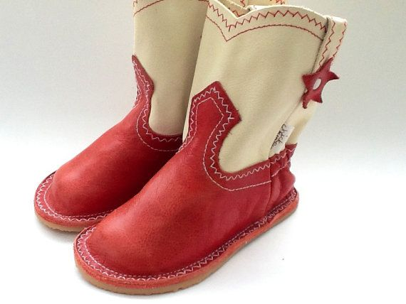 Cowboy Boot by chickpeakid on Etsy, $98.00