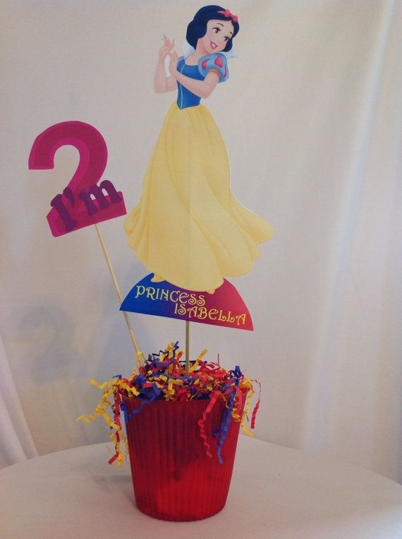 Printable Diy Snow White Party Centerpiece By Partiesbytristan On