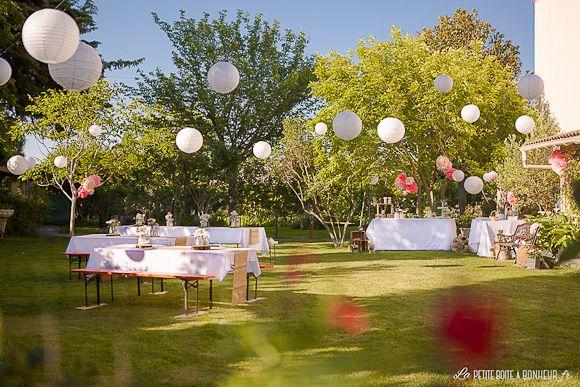 Le baptême de Clara | baptême Anthony | Table decorations, Garden et ...