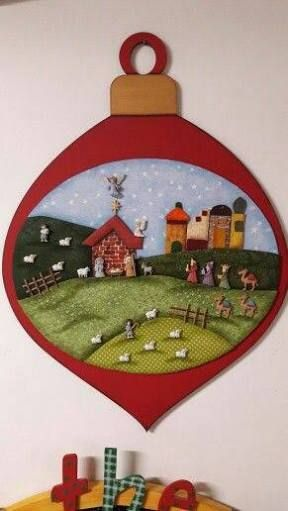 Resultado de imagen para pesebres de botones | Christmas Cheer ...