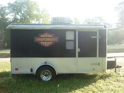 Harley Davidson Toy Hauler Enclosed Motorcycle Camper