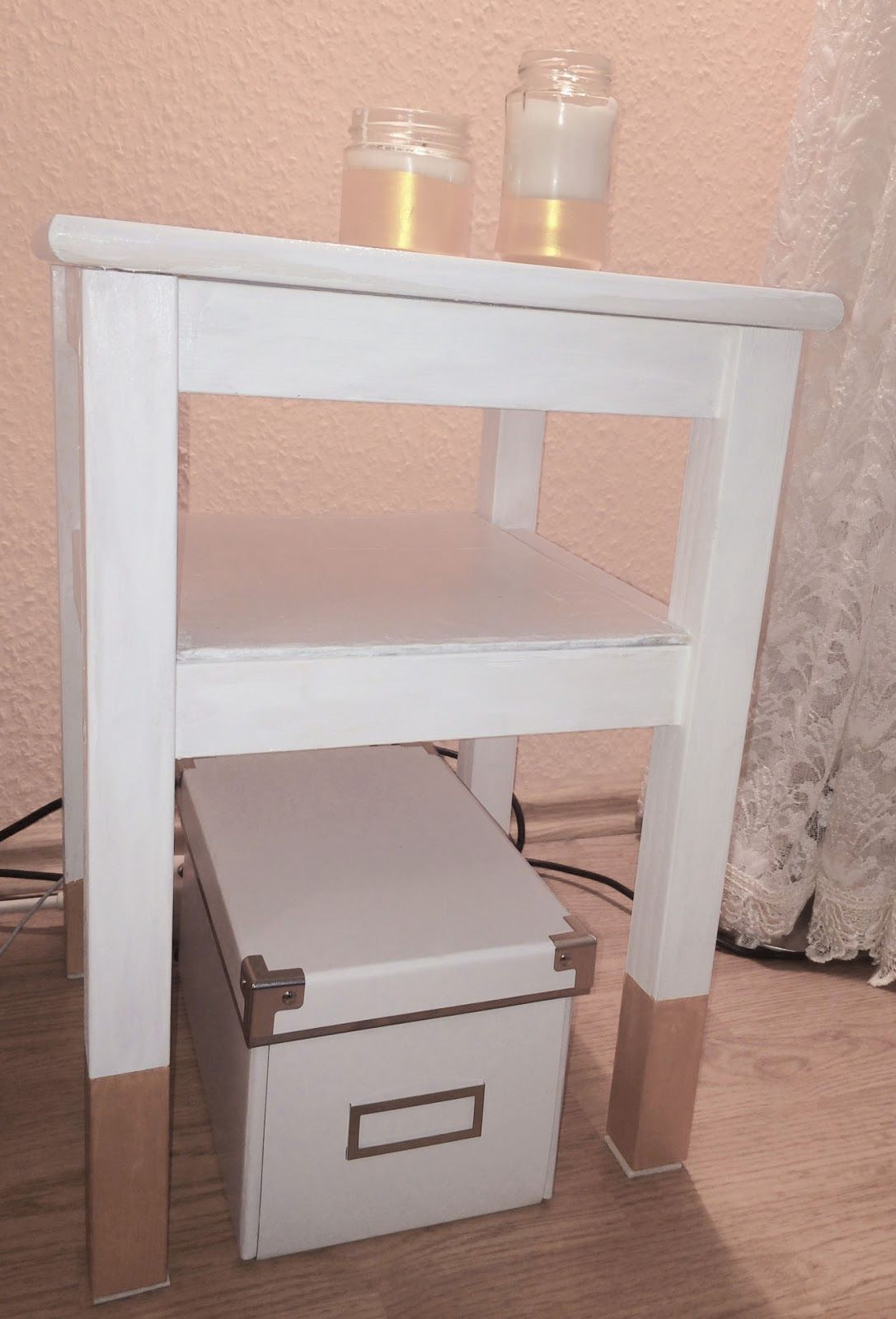 diy nachttisch ikea hack oddvar nightstand | decor | ikea hack, ikea