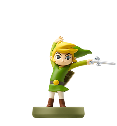 Toon Link The Wind Waker Amiibo Legend Of Zelda Legend