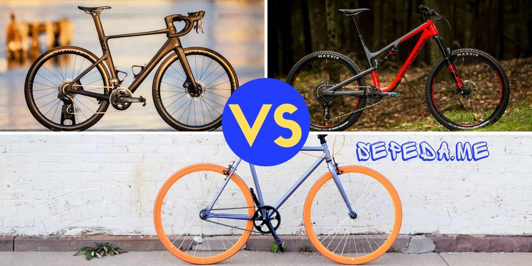 Perbandingan Spesifikasi Dan Harga Sepeda Di 2020 Sepeda Sepeda Bmx Komponen Sepeda