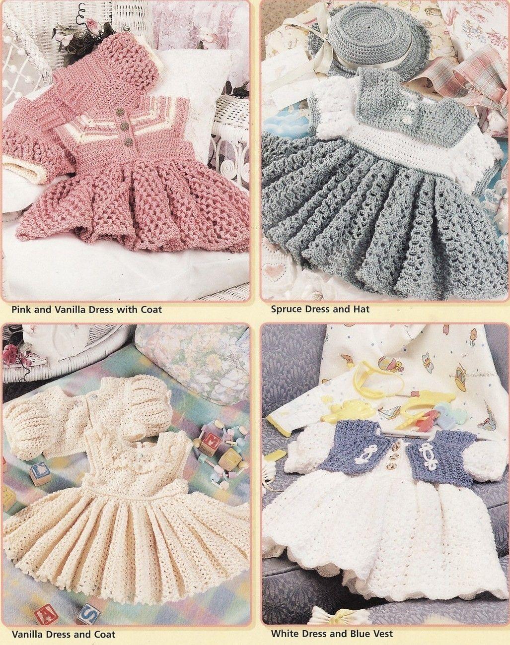 : Heirloom Crochet Dress pattern by Jacqui | ~~Crochet ...