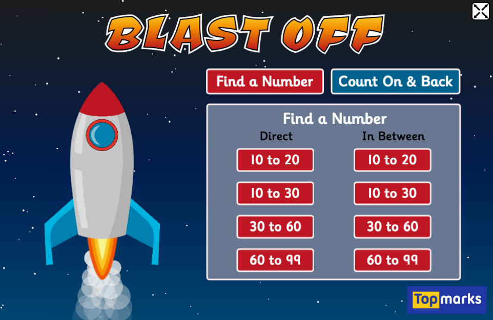 Blast Off - Mental Maths for 5 to 8 Year Olds | Maths Games ...