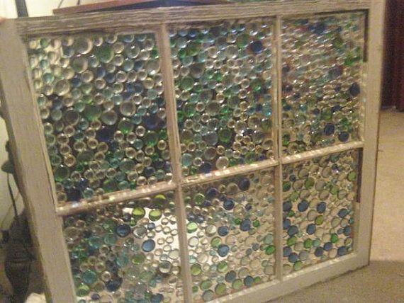Faux Bubble Glass Old Window Sun Catcher Panel By Mcginnisfriends