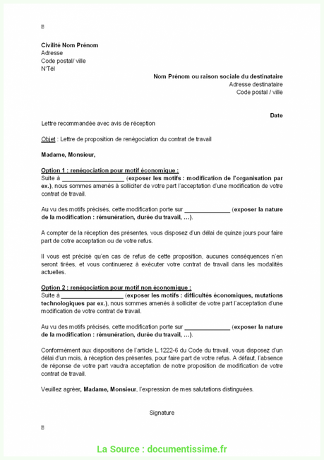 Resiliation D Un Contrat De Prestation De Service Paperblog Contrat Exemple De Lettre Modeles De Lettres