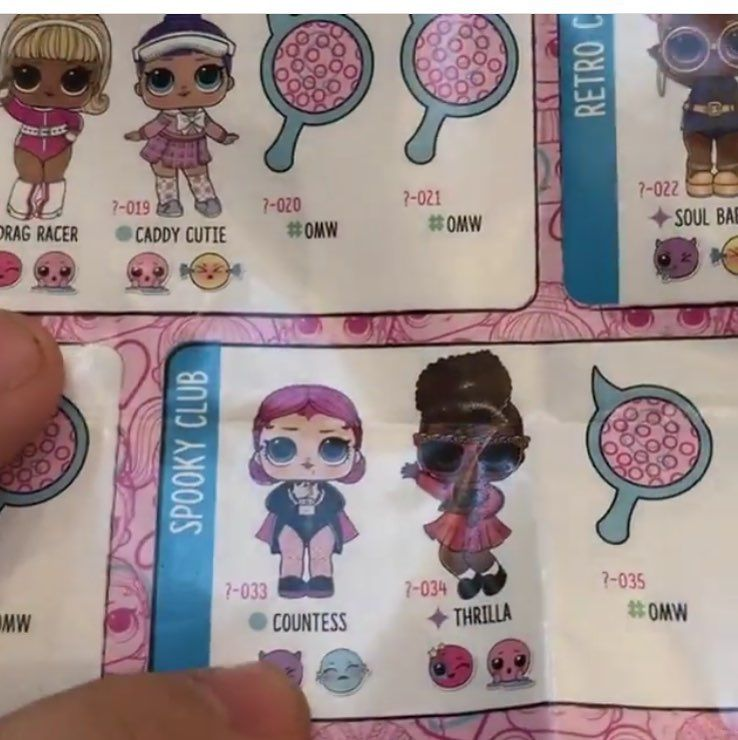 LOL SURPRISE BLIND PACK COLLECTOR CARDS SERIES 1-2 /& LIL SISTERS SINGLE PACK