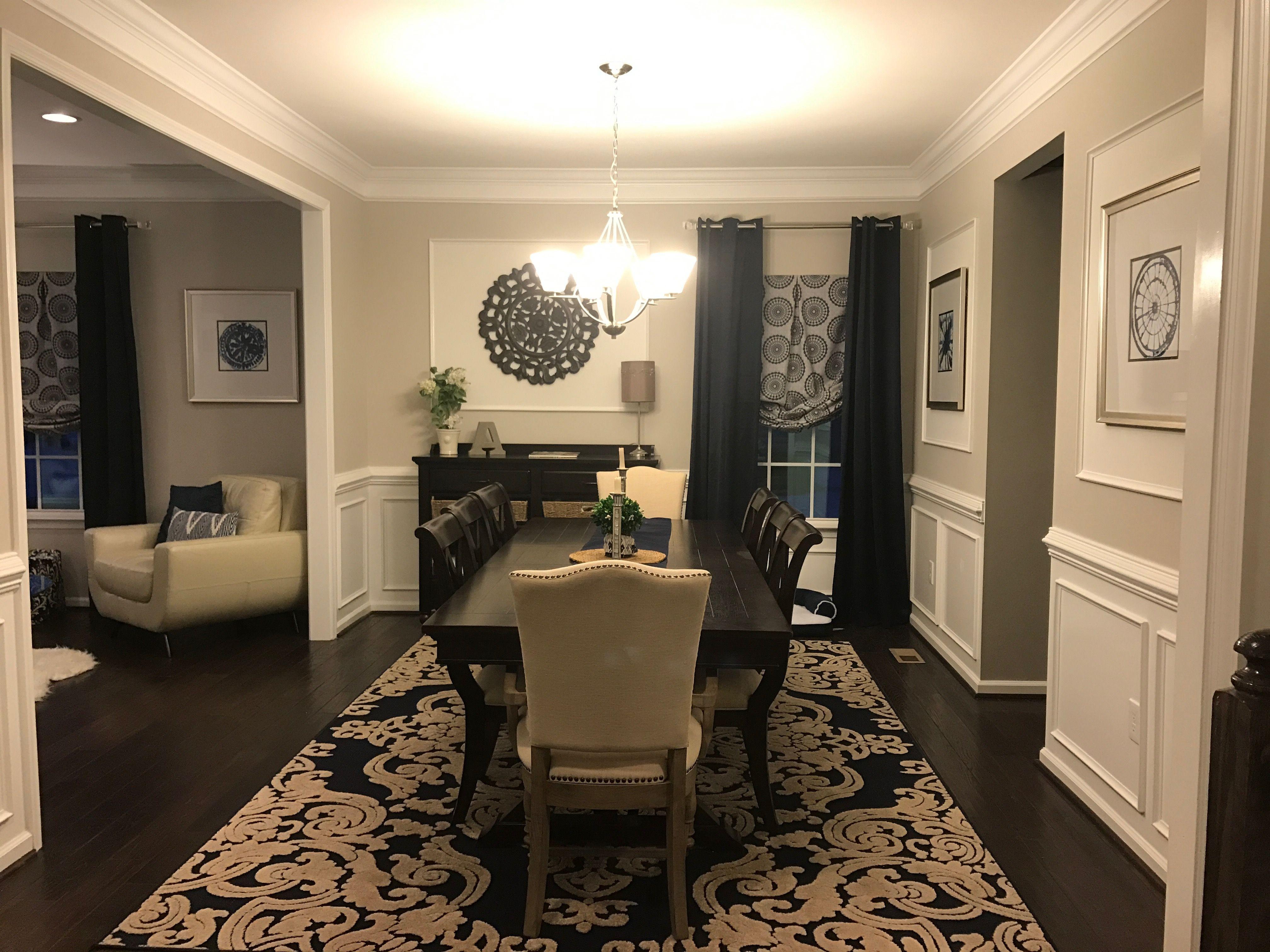 Best Ryan Homes Formal Dining Room Rome Model Sherwin Williams 640 x 480